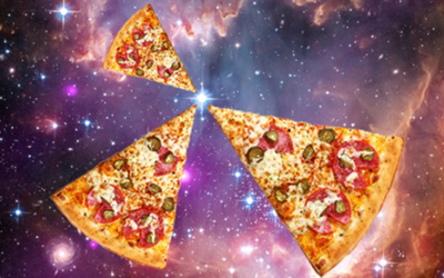 3D Print-On-Demand Pizza, In Space