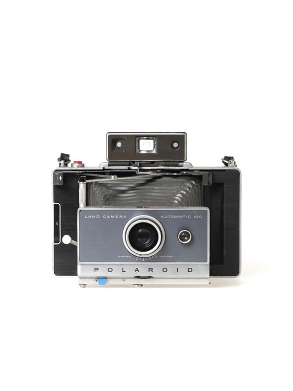 Polaroid Automatic 100 camera