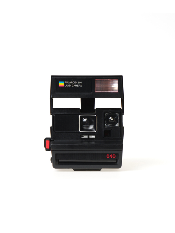 Polaroid Sun 640 camera