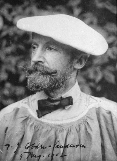 A portrait of Thomas James Cobden-Sanderson