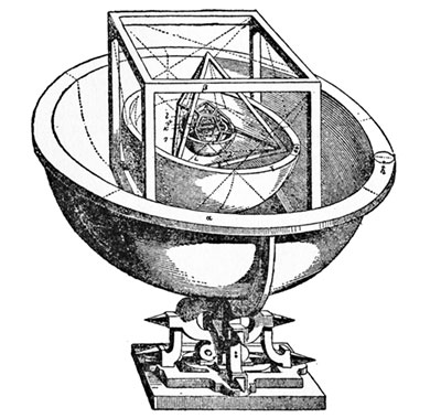 An illustration of Kepler's cup