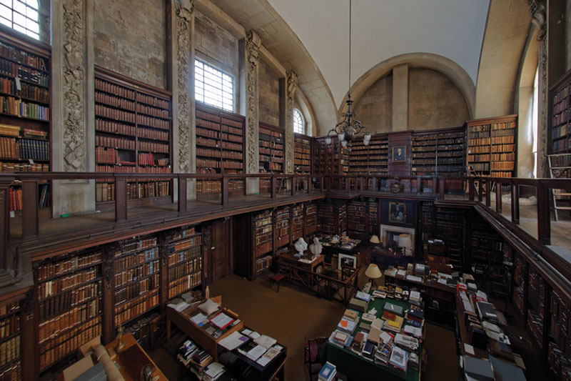 The library at St Paul's Cathedral